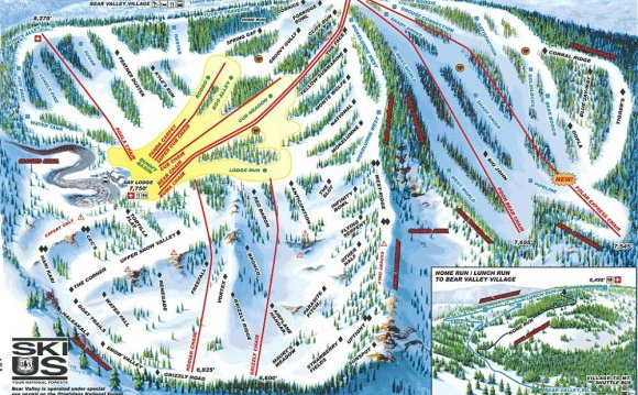 Bear Valley Ski Pictures and