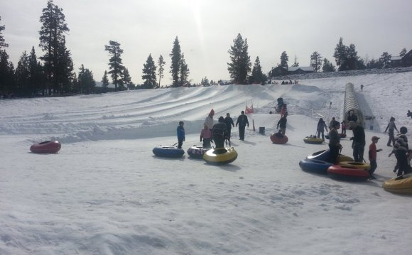 Big Bear Mountain sledding