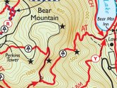 Bear Mountains Hiking Maps
