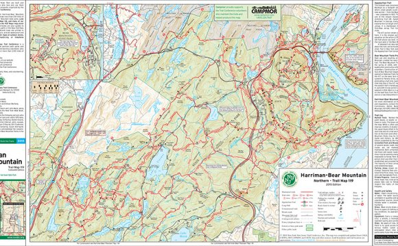 Bear Mountain State Park Maps