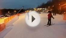 Shawnee Mountain Night Ski Poconos 2014 GoPro