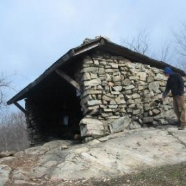 West Mountain Shelter - Harriman State Park. Phto by Daniel Chazin.